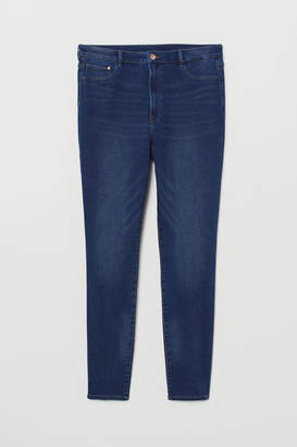 H&M H&M+ High Waist Jeggings - Blue