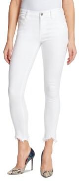 Skinnygirl Sarah Frayed-Hem Jeans