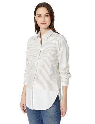 Foxcroft Women's Giselle Non Iron Stripe Tunic