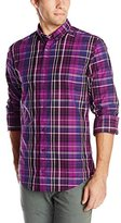 HUGO BOSS BOSS Orange Men's Edipoe Slim Fit Long Sleeve Plaid Shirt