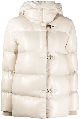Fay Hooded Puffer Jacket
