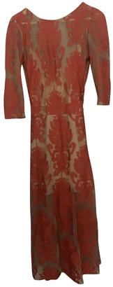 For Love & Lemons Red Viscose Dresses