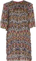 Isabel Marant Pam printed silk-chiffon and cotton dress