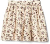 Gap Floral flippy skirt