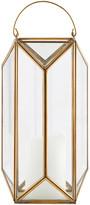 House Doctor - Tall Cubix Lantern - Brass