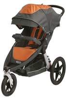 Graco RelayTM Click ConnectTM Performance Jogging Stroller in TangerineTM