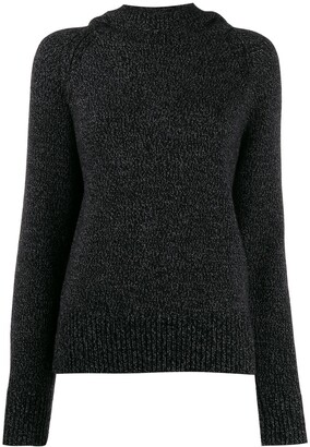Joseph Knitted Hooded Jumper