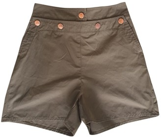 See by Chloe Khaki Shorts for Women