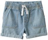 Jumping Beans Baby Boy Jumping Beans® Denim Striped Roll Cuff Shorts