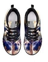 Shoetup Customized German Shepherd Dog Print Women's Running Shoes Designed By Laurel Cowell (8, )