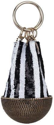 Silvia Tcherassi Atacama Bag in Black/White Sequin