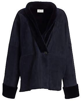 The Row Women's Pernia Lamb Fur Jacket