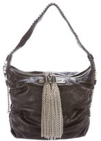 Thomas Wylde Chain-Trimmed Shoulder Bag