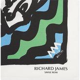 Richard James Happy Face Iii Silk Pocket Square
