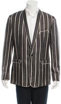 Dolce & Gabbana Silk Printed Blazer w/ Tags