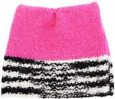 Missoni Wool Blend Hat W/ Black & White Edge