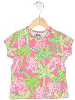 Lilly Pulitzer Girls' Elephant Print T-Shirt