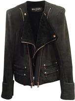 Balmain Shearling biker jacket