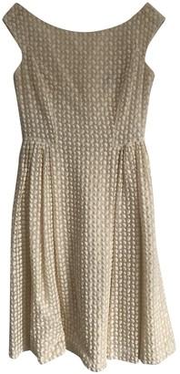 Barneys New York White Cotton Dress for Women