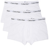 Calvin Klein Underwear Cotton Stretch 3 Pack Low Rise Trunks