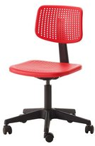 Ikea ALRIK Swivel chair and adjustable, RED