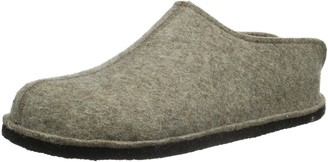 Haflinger Unisex Adults' Smily Open Back Slippers
