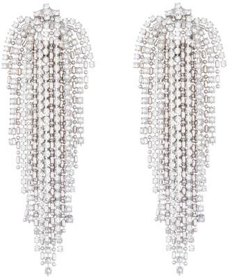 Dannijo Julia Crystal Fringe Earrings