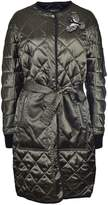 Markus Lupfer Quilted Single Breasted Liberty Coat