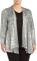Calvin Klein Open Front Long Sleeve Jacket