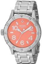 Nixon Women's A4102054 38-20 Analog Display Japanese Quartz Silver Watch