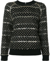 Ashish studded sweatshirt - women - Cotton/Acrylic - XS