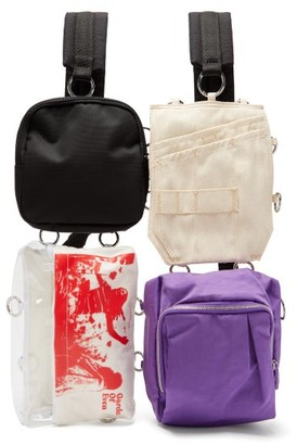 Raf Simons X Eastpak - Pocketbag Loop Garden Backpack - Mens - Black Multi