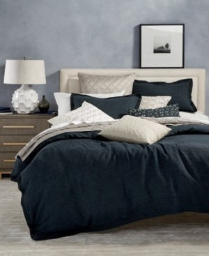 Hotel Collection Closeout! Linen Full/Queen Duvet Cover, Created for Macy's Bedding