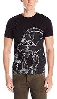 Just Cavalli Men's Leopard Short Sleeve T-Shirt