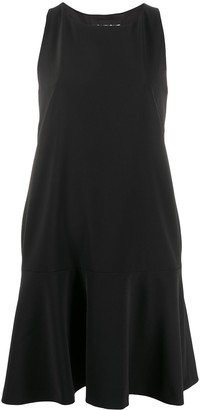 Boutique Moschino Bow Back Flared Dress