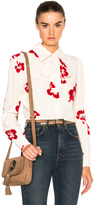 Saint Laurent Skinny 5 Pocket High Waist