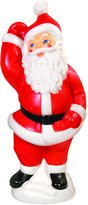 GENERAL FOAM PLASTICS CORP. Painted Blow Mold Santa (C5770AC)