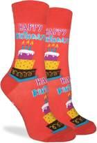 Good Luck Sock Women's Happy Birthday Crew Socks