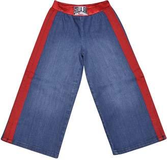 Stella Jean Elasticated Waist Jeans