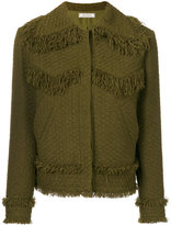 Nina Ricci tweed jacket - women - Silk/Polyamide - 36