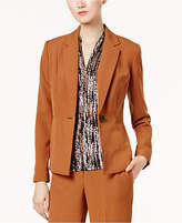Kasper One-Button Blazer