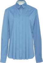 Alexis Mabille Long Sleeve Pleated Shirt
