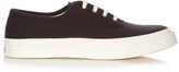 MAISON KITSUNÉ Low-top canvas trainers