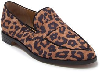 Franco Sarto Hudley Leopard Print Loafer
