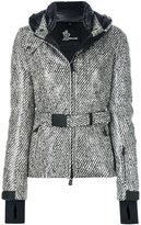 Moncler belted jacket