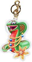Moschino Jeweled Snake Keyring