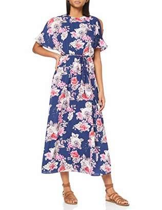 Yumi Women's DRES Maxi Dress, (White 5), (Size:)