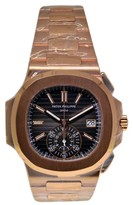 Patek Philippe Nautilus Chronograph 5980/1R 18K Rose Gold Mens Watch