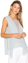 BCBGMAXAZRIA Whitlee Tank in Blue. - size M (also in XS)