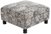 Surya Kanpur Square Cotton Ottoman